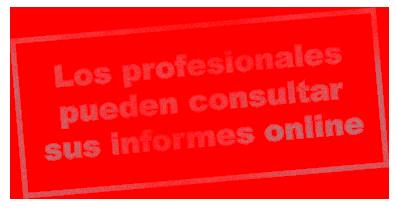 Los profesionales pueden consultar sus informes online